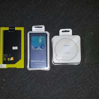 Samsung Edge 6 Plus Cases + Fast Wireless Charger