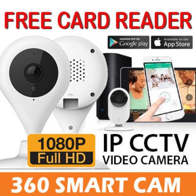 100% AUTHENTIC]360 720p/1080p FHD Home Camera XIAOYI IP Cam