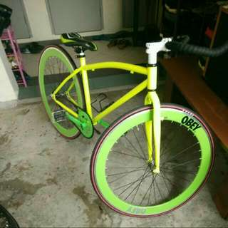 fixie with coster brake