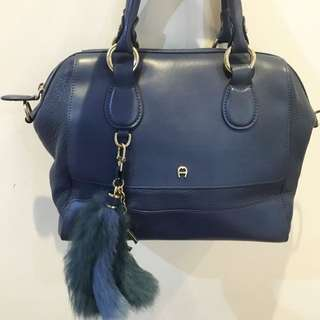 Aigner Limited Edition With Real Rabbit Fur