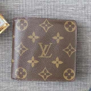 Authentic Louis Vuitton Monogram Portefeuille Marco Bifold Wallet