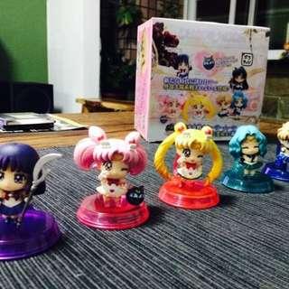 美少女戰士 Sailor Moon Q版 公仔