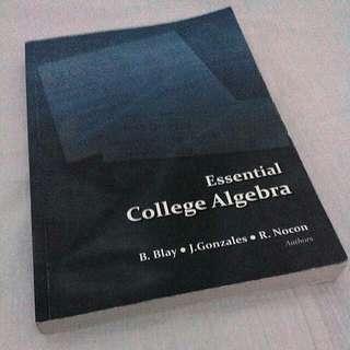 Essential College Algebra
