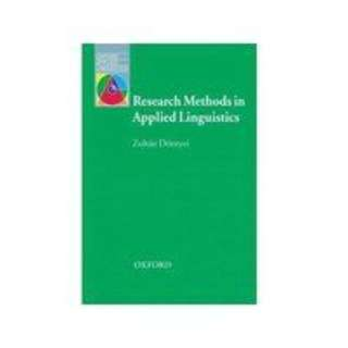 *全新* Research Methods in Applied Linguistics (Oxford Applied Linguistics)