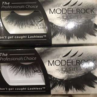 2 Model rock Lashes For $15