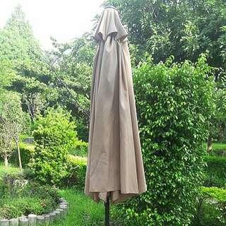 9呎鐵傘套組(9呎鐵傘+傘座)