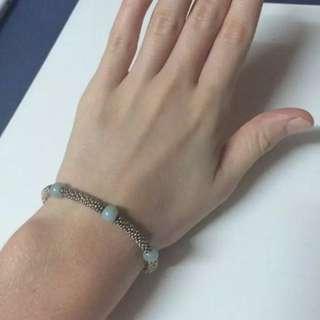 Links Of London Sterling Silver XS Effervescence Star Amazonite Bracelet