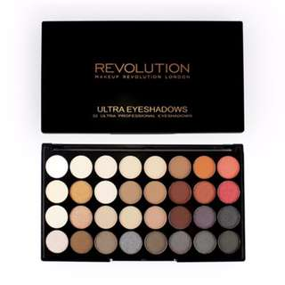 MAKEUP REVOLUTION Ultra 32 Eyeshadow Palette Flawless 2