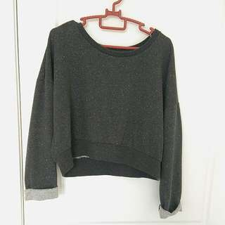 Cotton On Long-sleeved Crop Top
