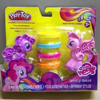 My Little Pony Play Toy Clay Stamping Set