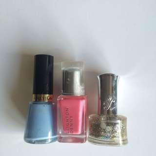 Nail Polish Bundle - Revlon, Leighton Denny, SasaTinnie