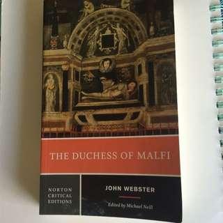 Duchess Of Malfi - John Webster - Norton Critical Edition