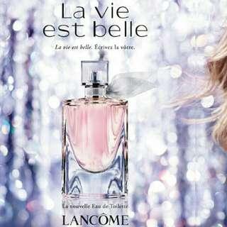 Lancome La vie est belle L'Eau de Toilette 淡香水 50ml