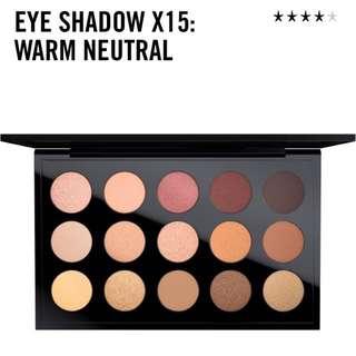 【BRAND NEW】MAC warm neutrals Eyeshadow Palette Original RRP $135!!!