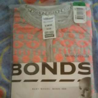 Bonds baby zippy size 000