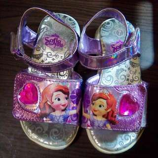 Sofia The First Lighting Sandals