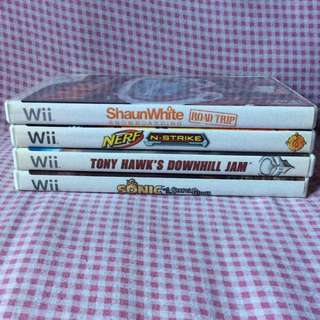 Take All Wii games