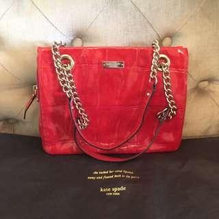 Kate Spade Bag In Red