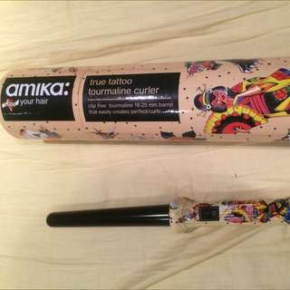 Amika Tattoo Curling Wand
