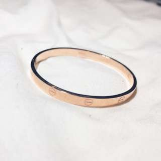 Cartier Bracelet In Rose Gold [REPLICA]