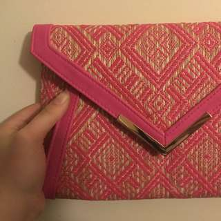 Pink Colette Clutch