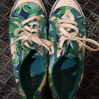 (REDUCED) COACH shoes Size 8.5