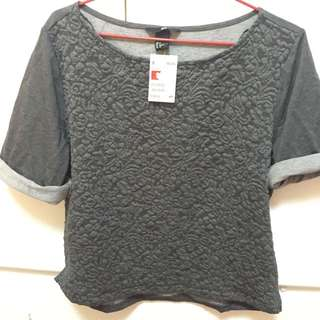Charcoal Grey Shirt Size S ( Hnm )