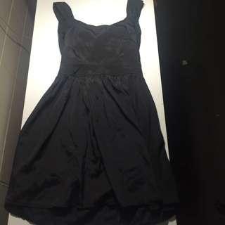 """Asos"" Black Dress"