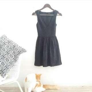 Zara / TRF / Black Dress