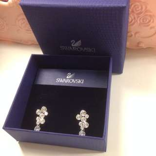 Authentic Swarovski Earrings