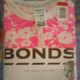 Bonds Size 1 Zippy