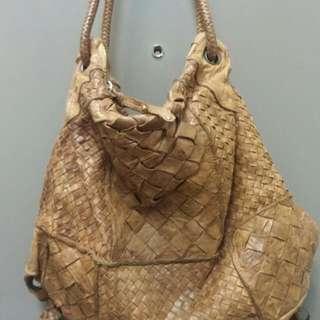 Handmade Leather Shoulder Bag