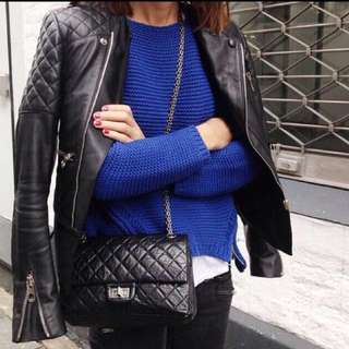*Restock 5!* Quilted Chain Sling Bag