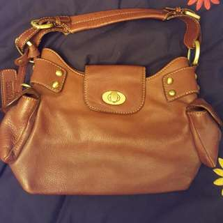 Danier Brown Leather Purse