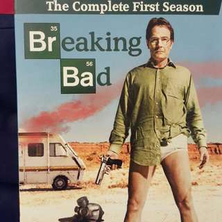 Breaking Bad DVD Complete 1st Season