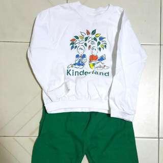 Kinderland Long Sleeve Top w Long Pants