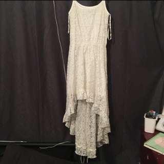 LACE IVORY/WHITE DRESS