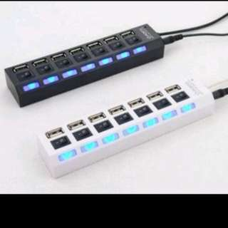 usb hub 7 port / colokan usb 7 output