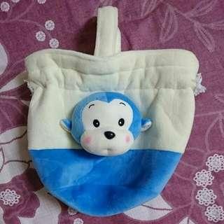 🚚 猴頭絨布束口袋(贈品)