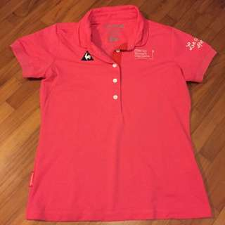 Le Coq Sportif Women Golf Dry-fit Polo