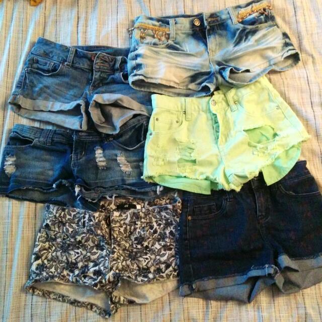 6 Size 00 Shorts