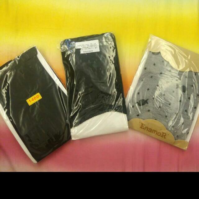 【出高於底價我就賣】全部一起♡ 140D褲襪/日系美人兒蕾絲貼褲/玫瑰透膚黑褲襪