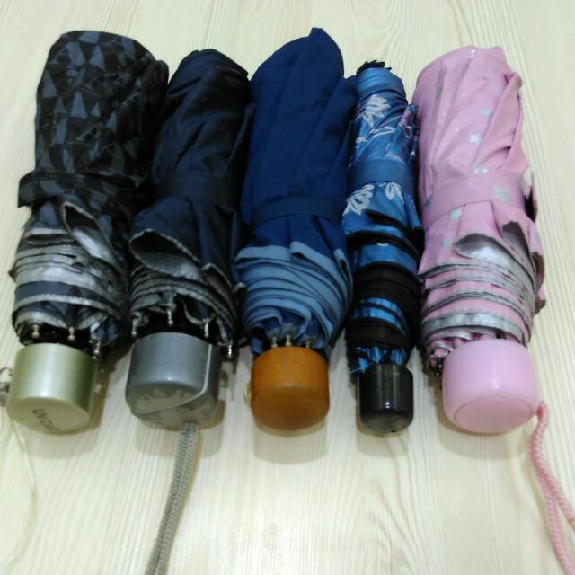 各式摺疊雨傘