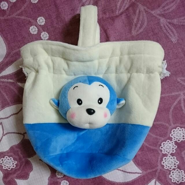 猴頭絨布束口袋(贈品)
