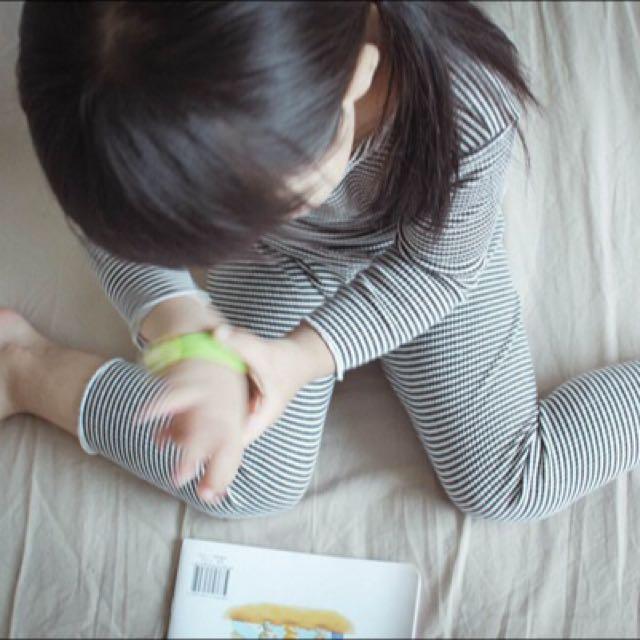 💥現貨💥 秋冬 寶寶 羅紋 純棉 居家 休閒服