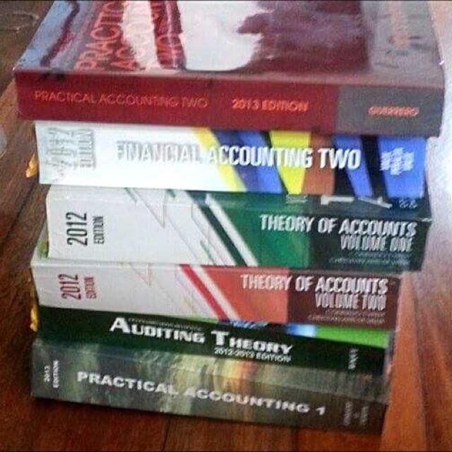 Accounting Review Books