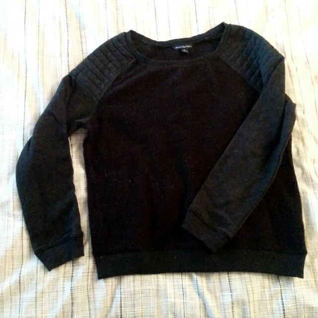 American Eagle Black Sweater