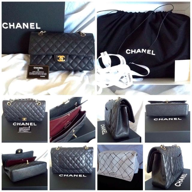 Authentic - Chanel classic flap