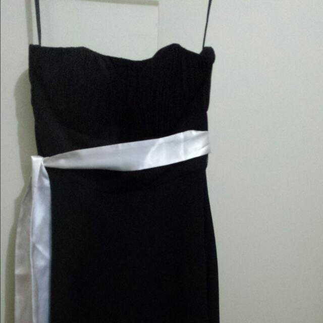 Black Formal Cocktail Dress