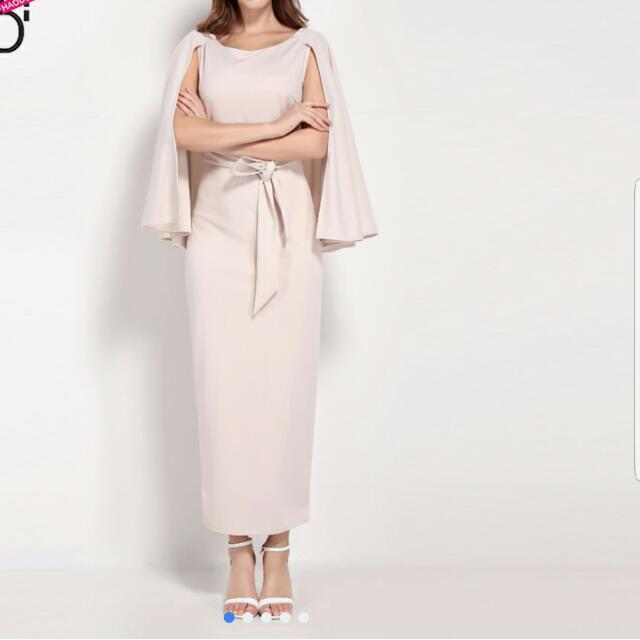 Brand New Cape Nude Dress